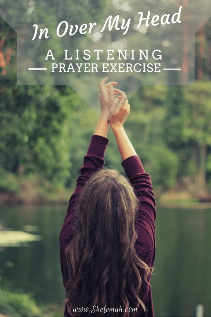 Free listening prayer exercise to walk yourself through some inner healing. #prayer
