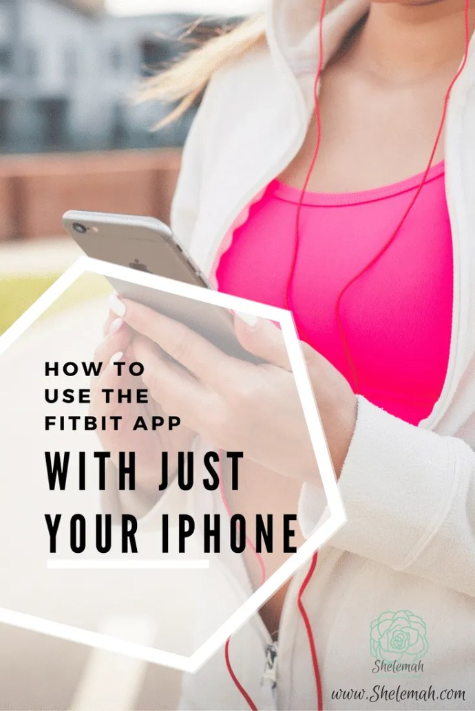 You don't need a fitbit to track steps in the fitbit app. Learn how to set up the app using just your iPhone to track your steps. #fitbit #stepcount