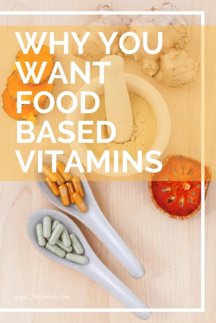 Are your vitamins food based? Learn why you want food based vitamins and some great brands to look at. #healthyliving