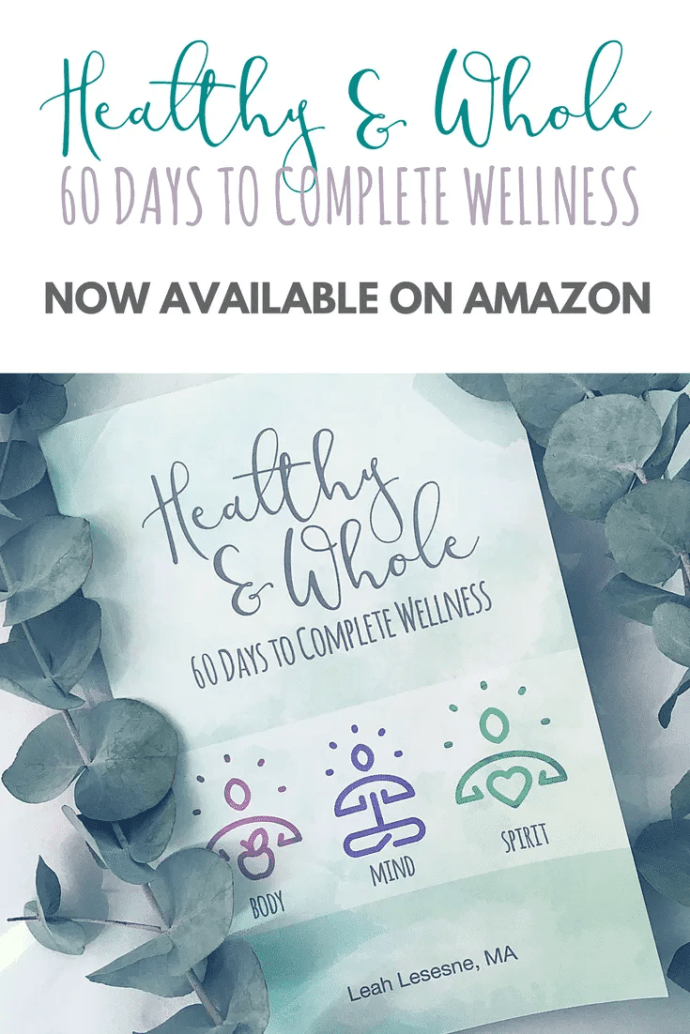 Check out the new book from Leah Lesesne, MA, Healthy & Whole: 60 Days to Complete Wellness. Learn how you can build healthy lifestyles in body, mind, and spirit in just 9 weeks. #healthchallenge #readinglist