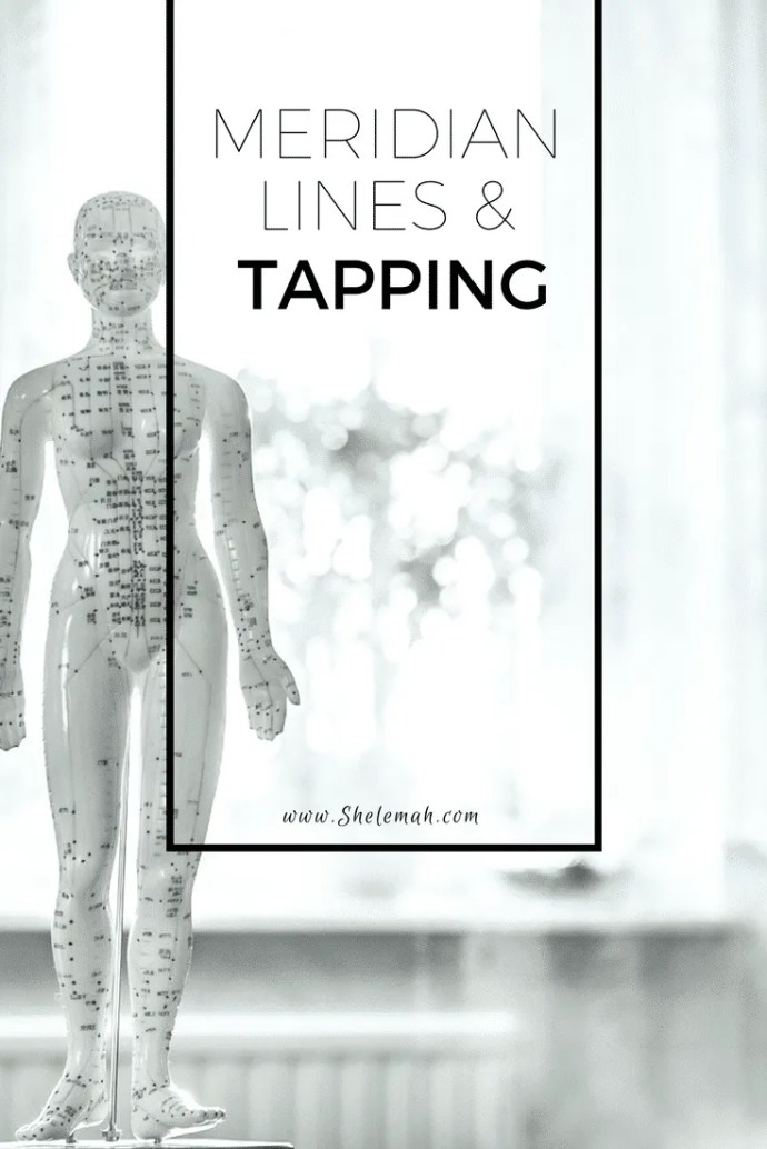Learn more about the science behind meridian lines and tapping therapies like EFT and TFT #tapping