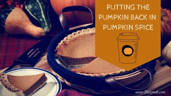 Putting the pumpkin back in pumpkin spice