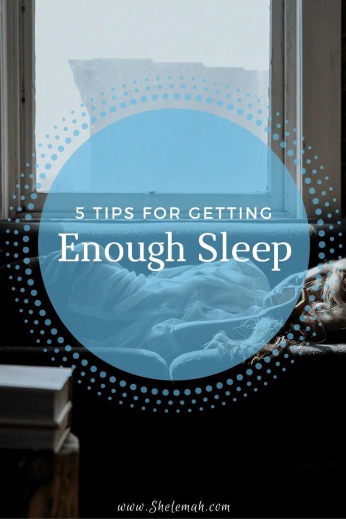 5 tips to help you get enough sleep  #sleep #health