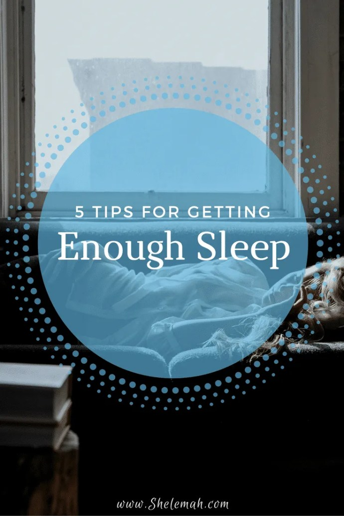 5 tips to help you get enough sleep  #sleep #health