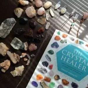 crystal healing book