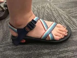size 9 chacos