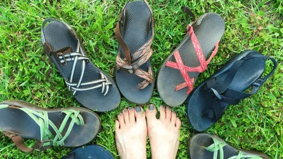 0e8602ee5529 Chacos are well known for their adjustable straps and bright colors and for  being a bit hard to find your Chaco size. The sandals only come in whole  sizes