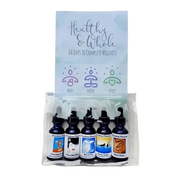 Healthy and Whole flower essence kit