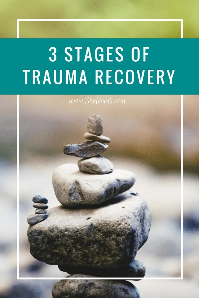 Learn the three stages of trauma recovery and how trauma informed inner healing can help you heal from life's hurts #selfcare #tapping