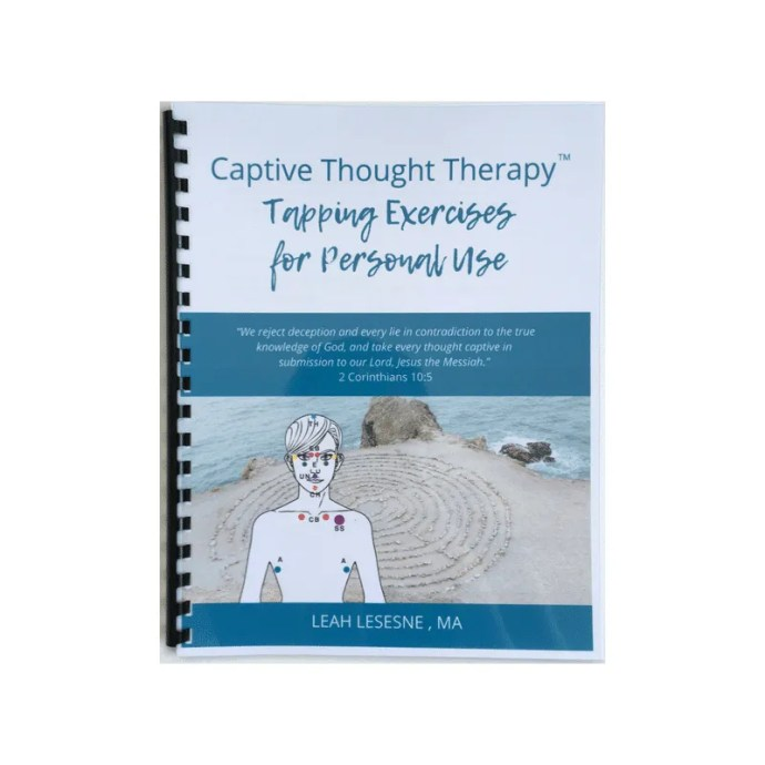 Captive Thought Therapy Tapping Exercises for Personal Use