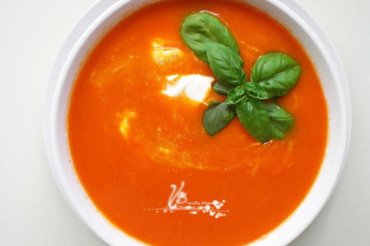Liebste Tomaten-Paprika Suppe