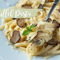 Trüffel für Anfänger - Cremige Pasta aus fünf Zutaten