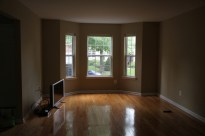 the awesome bay window in the living room