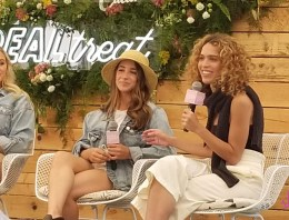 Poet Cleo Wade talks setting intentions at Aerie REALtreat event