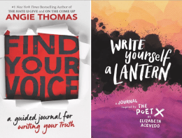 Best-selling Young Adult Authors to Release Journals