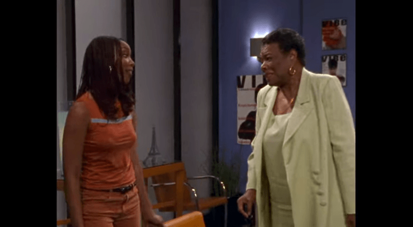 When Maya Angelou Shared Her Wisdom on 'Moesha'
