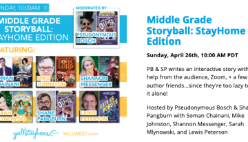 YallStayHome's Middle Grade Storyball: StayHome Edition