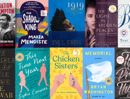 Historical Fiction Defines a Year's End: December 2020 Celebrity Book Club Picks