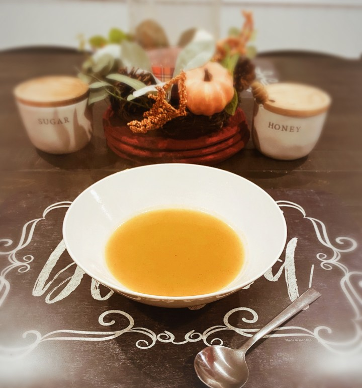 Perfectly Pumpkin Soup