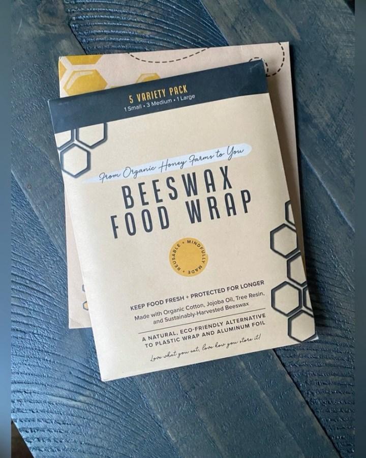 Bye bye plastic wrap hello beeswax!