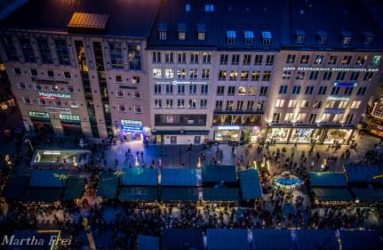 Der Weihnachtsmarkt am Marienplatz