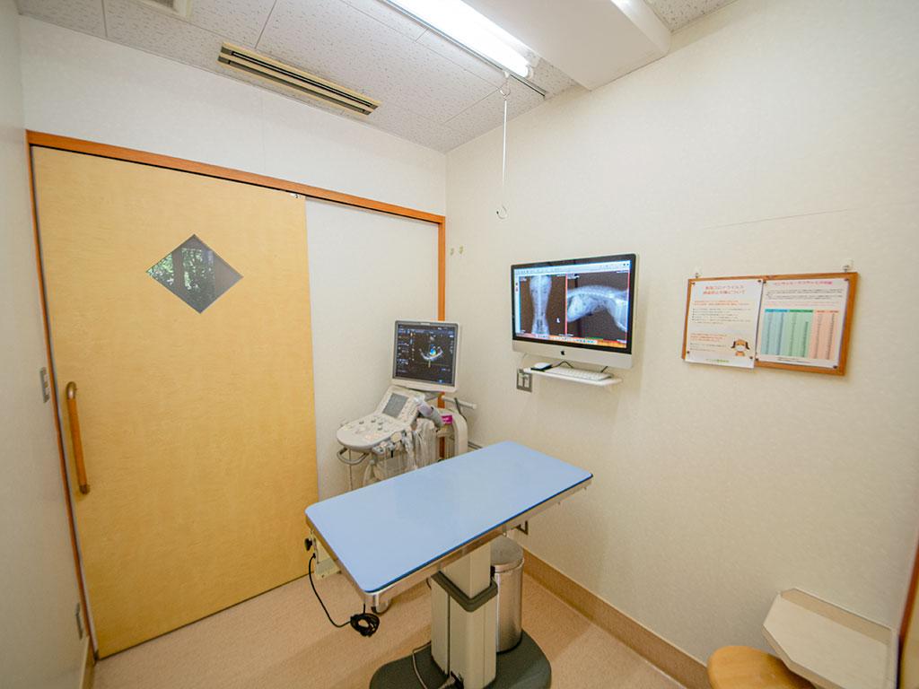 シェル動物病院 第2診察室