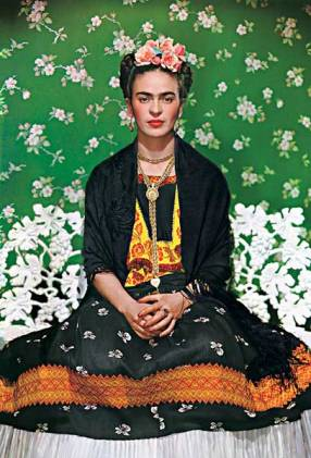 Frida On White Bench 1939
