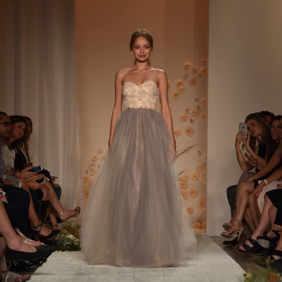 1b72a999928a8 lc lauren conrad runway collection · Tulle Strapless Gown