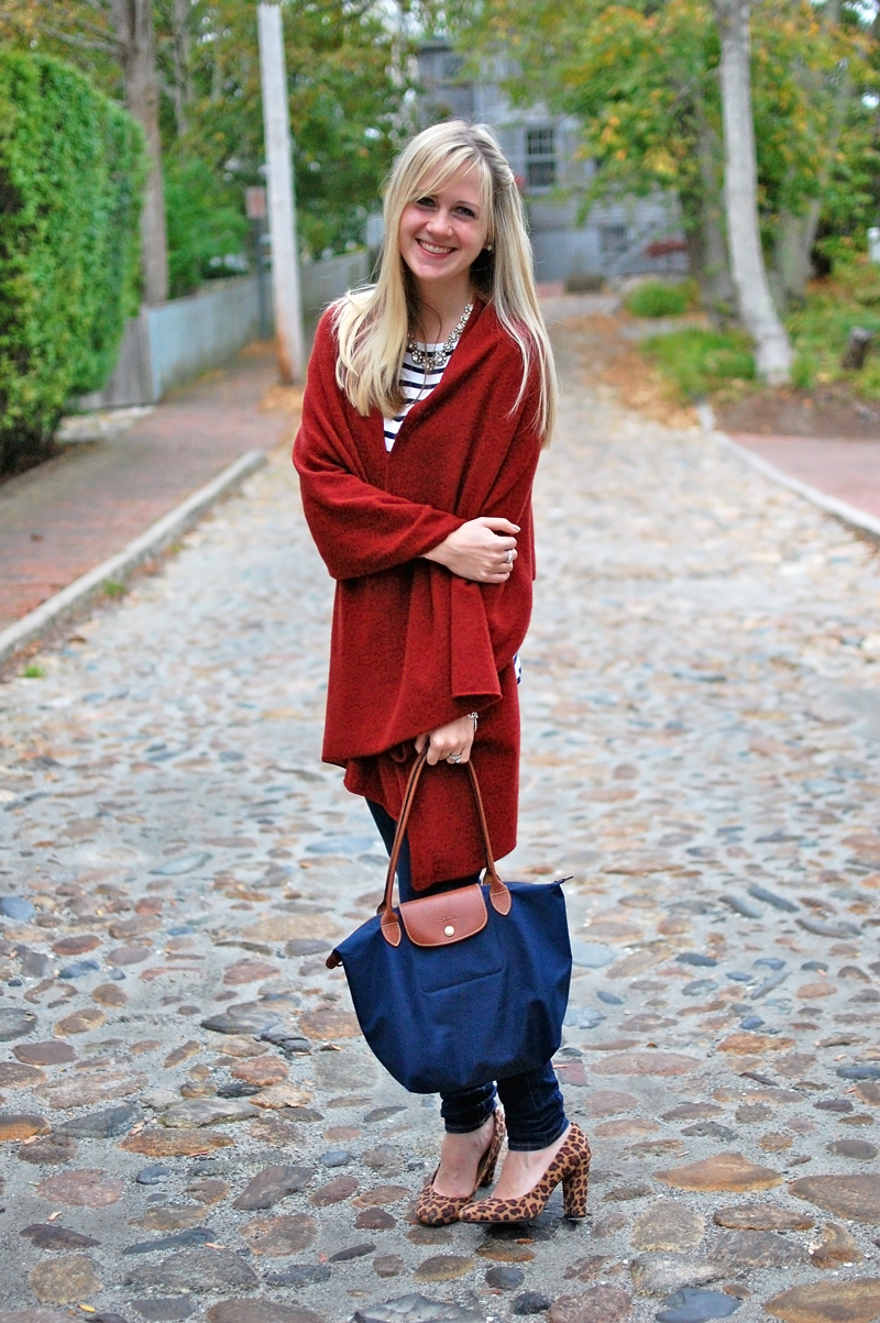 Fall Fashion On Nantucket With Milly & Grace