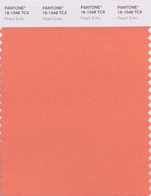 Pantone Color Report Peach Echo Shell Chic D