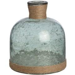 Turquoise Rope Vase, £25