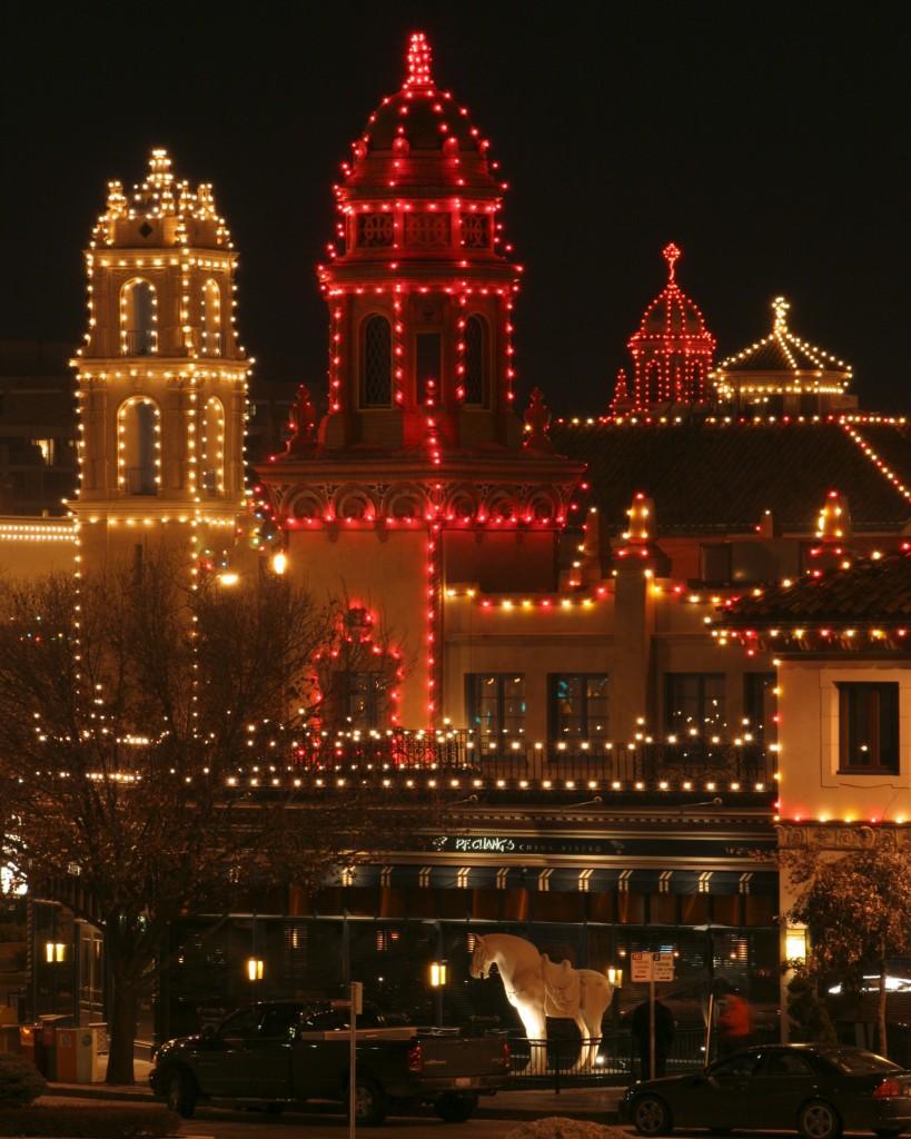 Kansas City Plaza Christmas Lights