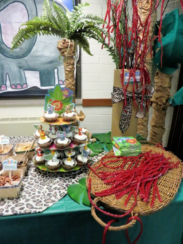 """""""It's a Jungle Out There"""" Refreshment Table"""