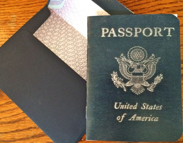"The ""passport"" invitation"
