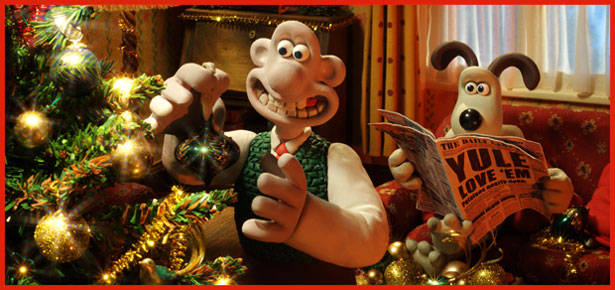 Wallace Amp Gromit Christmas Stamps Shelley George PResents