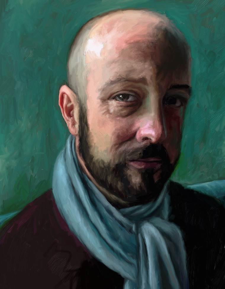 Day 11 portrait painting challenge