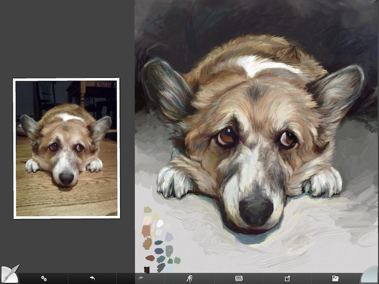 Painting A Corgi In ArtRage - 9 Helpful Dog Portrait Tips
