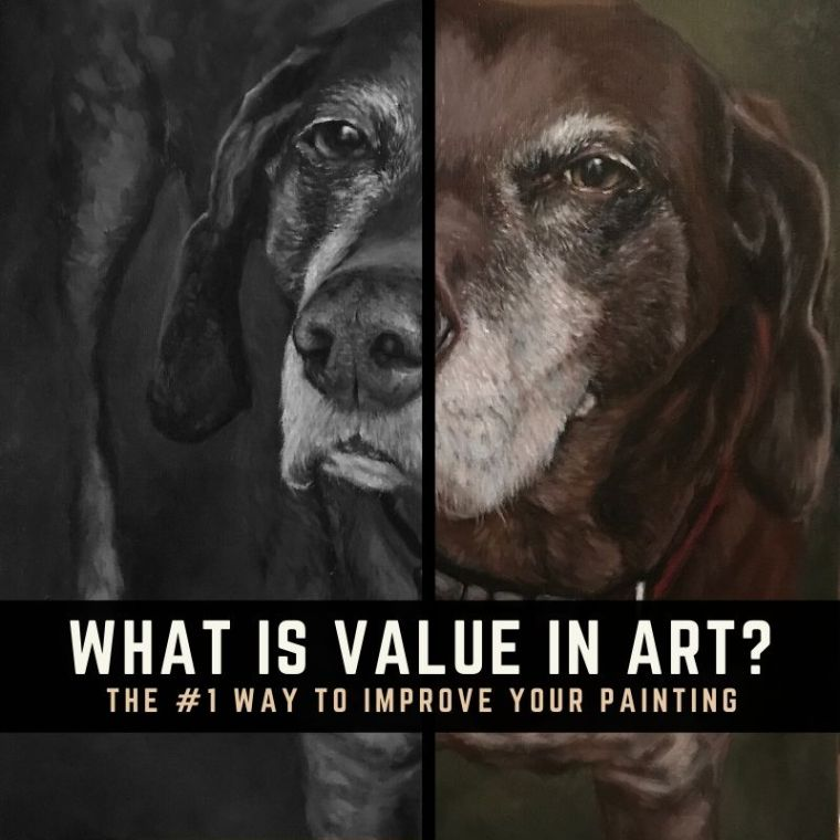 Value in art title graphic