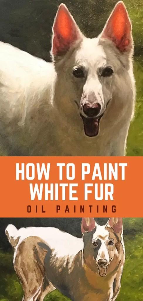 paint white fur pin 4