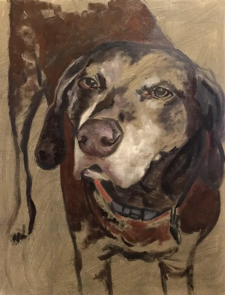 Duke portrait body and muzzle