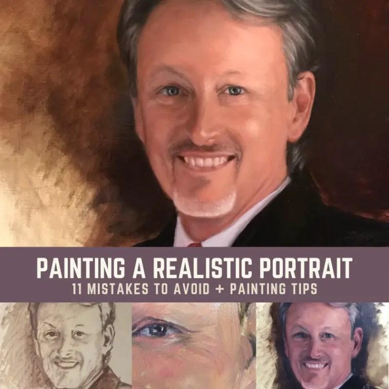 paint realistic portrait title 2