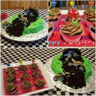 My oldest grandson's 7th birthday party.