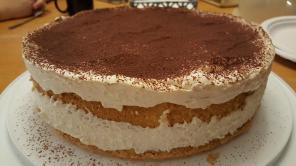 Tiramasu Cake