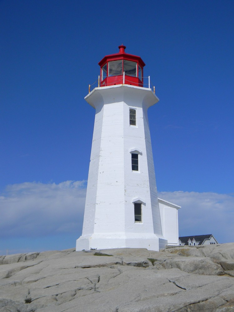 Peggy's Cove Lighthouse: Picture taken by Shelley Kassian on May 7, 2014