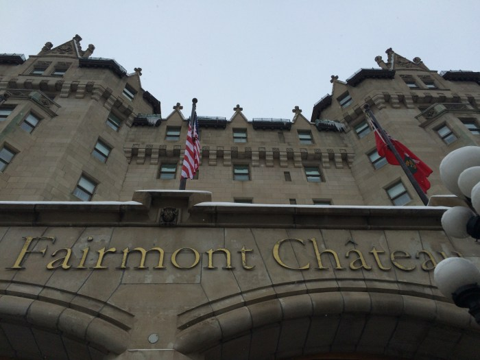 The Fairmont Chateau Laurier (Photo by Shelley Kassian)