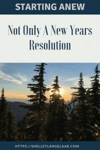 Change goal setting New Years Resolution