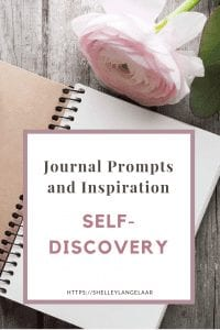 Monthly journal prompts challenge - self-discovery