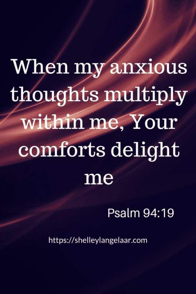 Bible verse that addresses fear