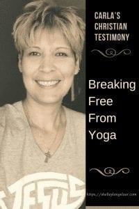 Freedom from yoga Christian Testimony