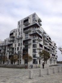 A residential complex in the Ørestad district.